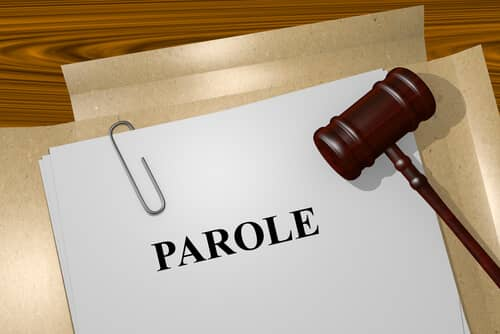 gavel and parole folder